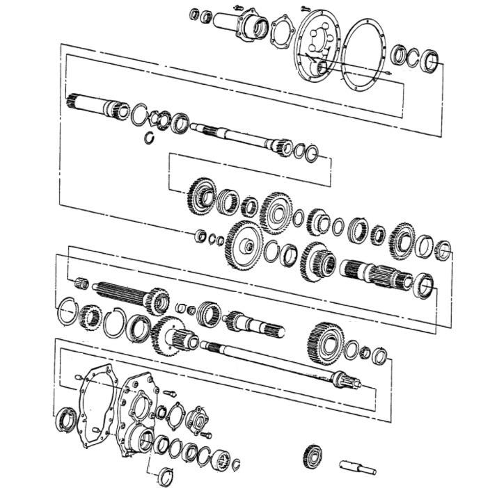 [LK_2105] Ford 3000 Tractor Transmission Diagram Download