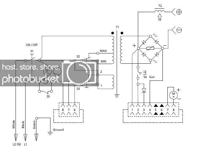 [RE_5262] Hobart 250 Mig Welder Wiring Diagram Free Diagram