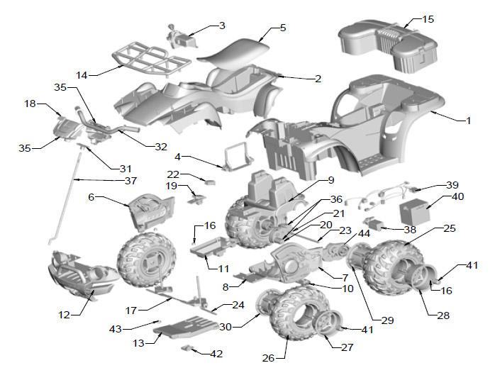 [TV_5362] Kawasaki Brute Force 750 Wiring Free Diagram
