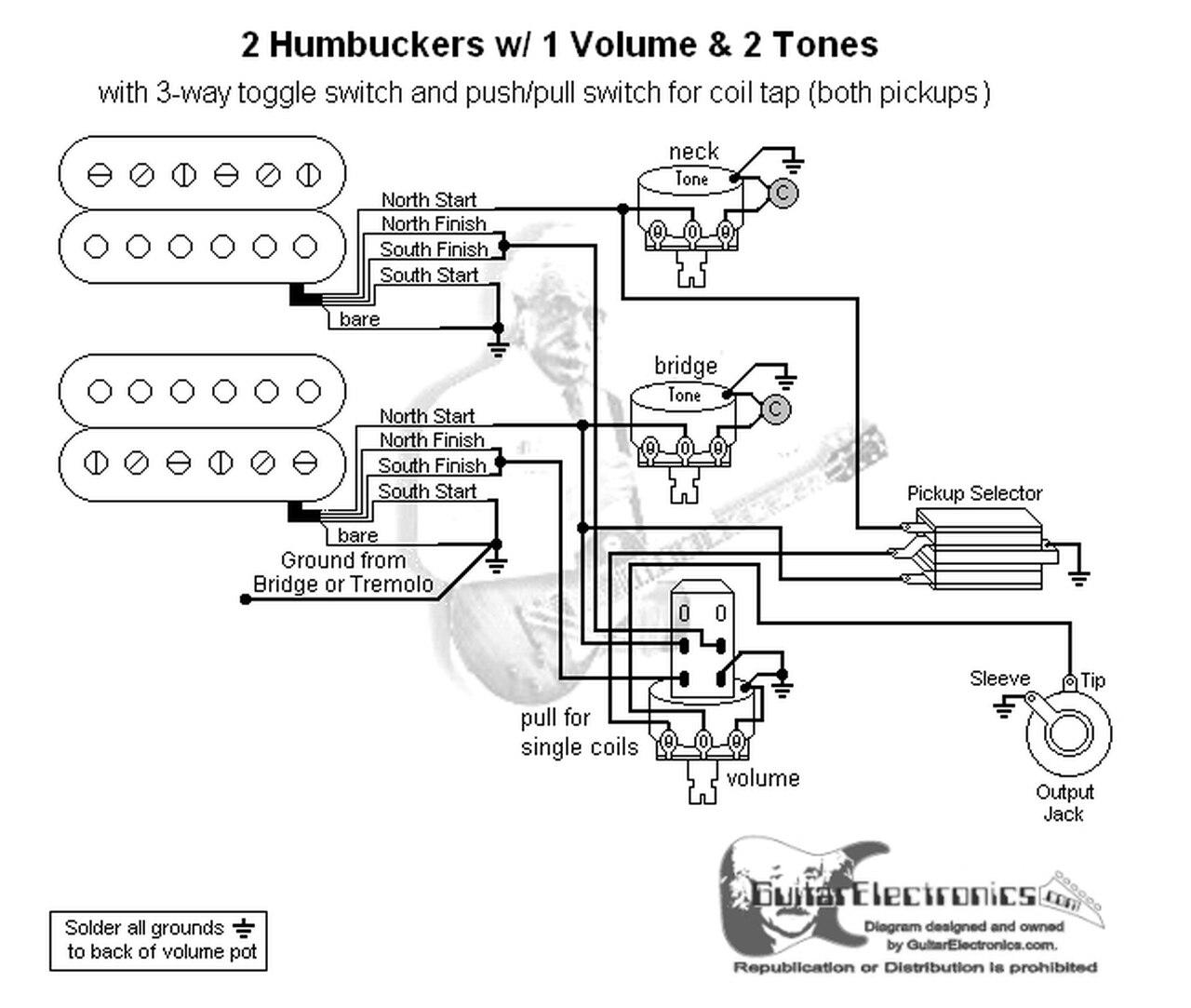 Ov 2 Humbucker Wiring Diagrams 1 Volume 1tone