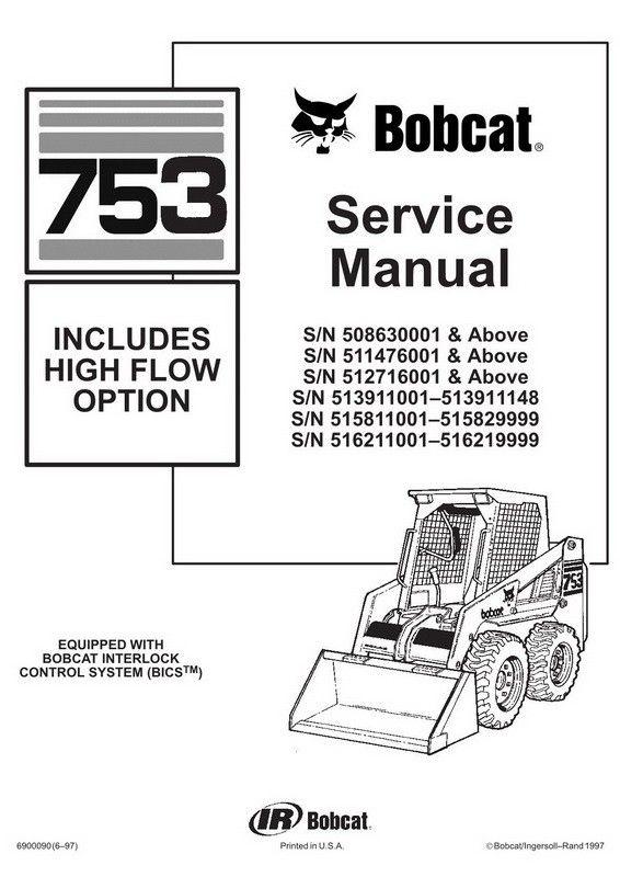 [EN_1658] Bobcat 773 Parts Diagram Engine Free Diagram
