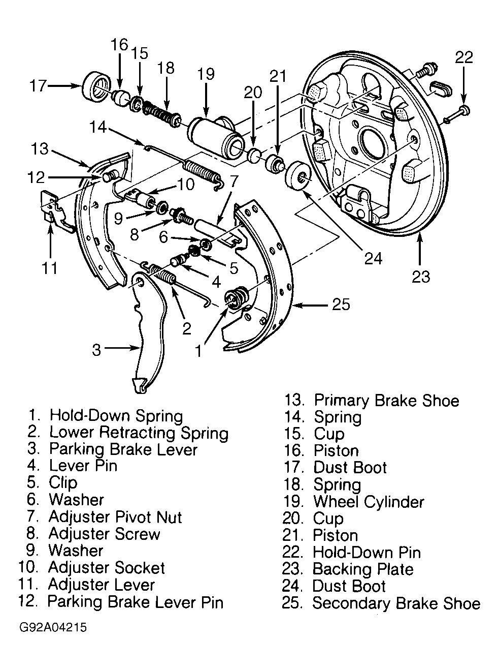 [HR_0667] Ford Brakes Diagram Free Diagram