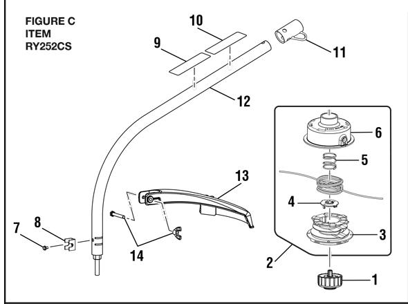 [SZ_0416] Ryobi Weed Eater Parts Diagram On Ryobi Air Box