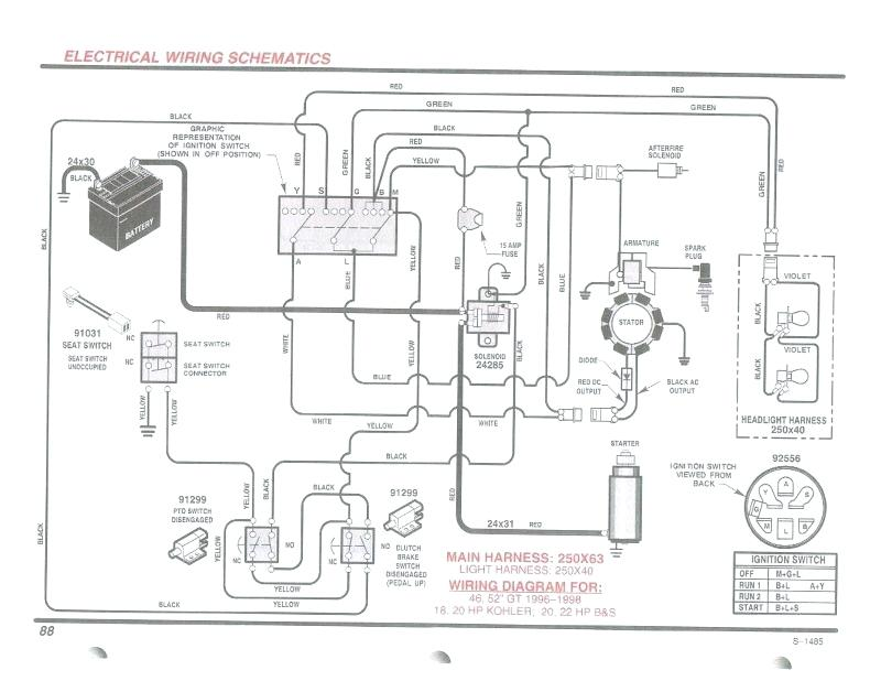 Briggs And Stratton Wiring Diagram 20 Hp Collection