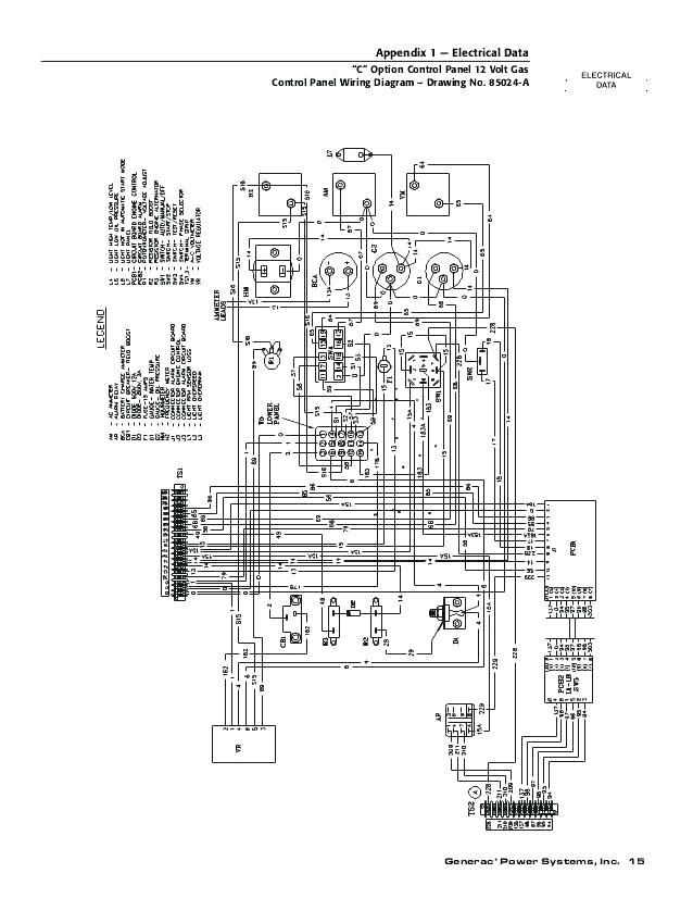 Generac Transfer Switch Wiring Diagram : Briggs And