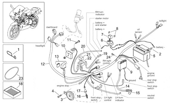 [AF_5108] Aprilia Mojito 50 Wiring Diagram Download Diagram