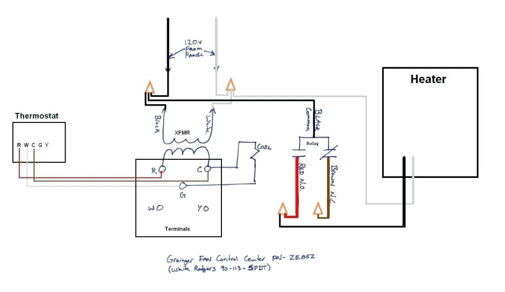 [RH_5385] Propane Heater Thermostat Wiring Diagram