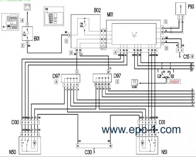 alfa romeo 166 wiring diagram washing machine door