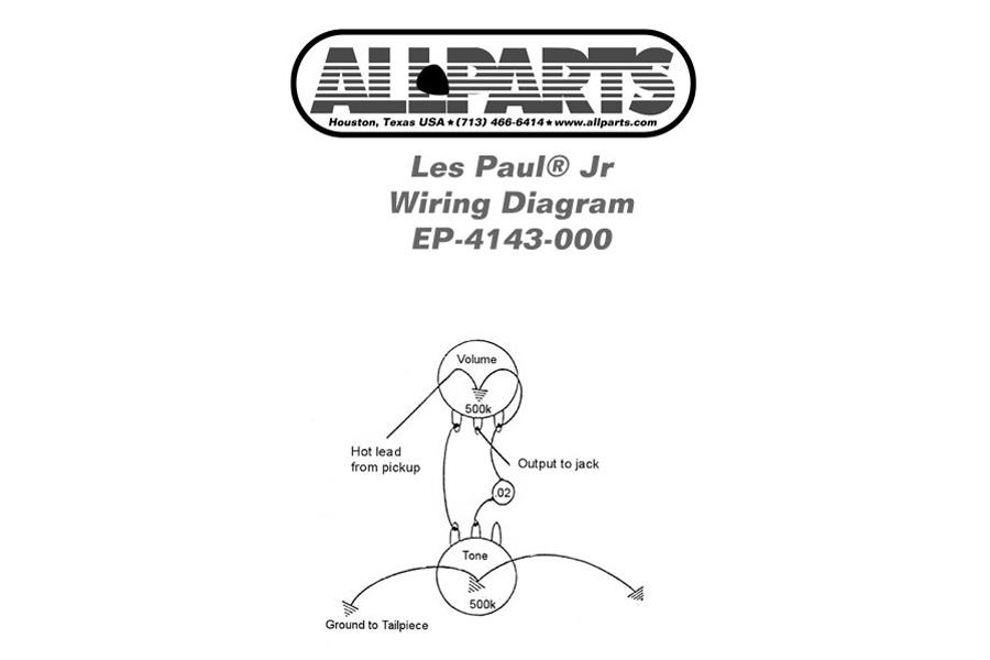 [22+] Gibson Les Paul Junior Wiring Diagram