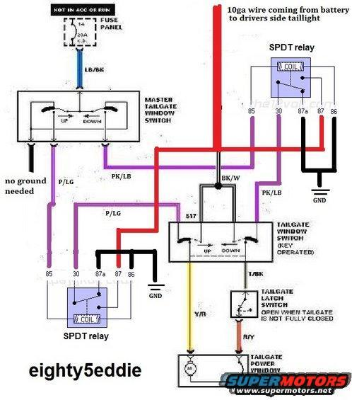 1985 ford bronco wiring diagram 2000 jeep radio wiring