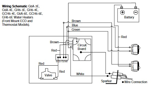 [GB_7648] Hot Water Heater Internal Diagram Schematic Wiring