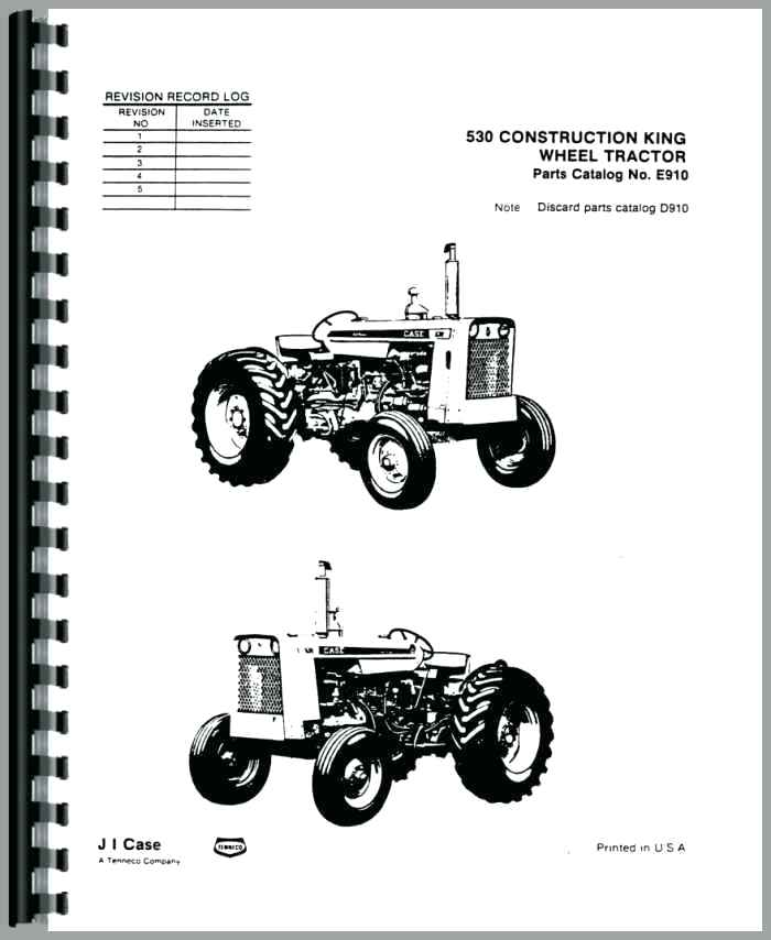 [XG_9872] Case 530 Backhoe Wiring Diagram Also Case 530