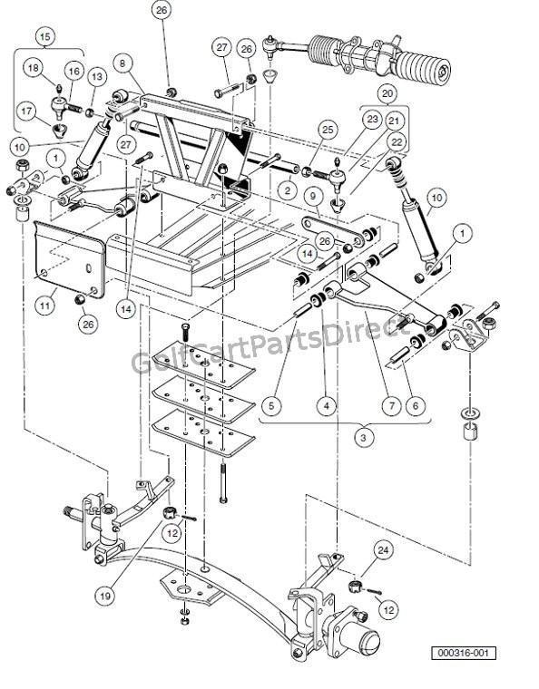 xx7546 club car carry all 2 parts diagram club car carry