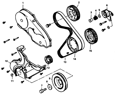 [XB_3877] Timing Belt For Mitsubishi Galant Schematic Wiring