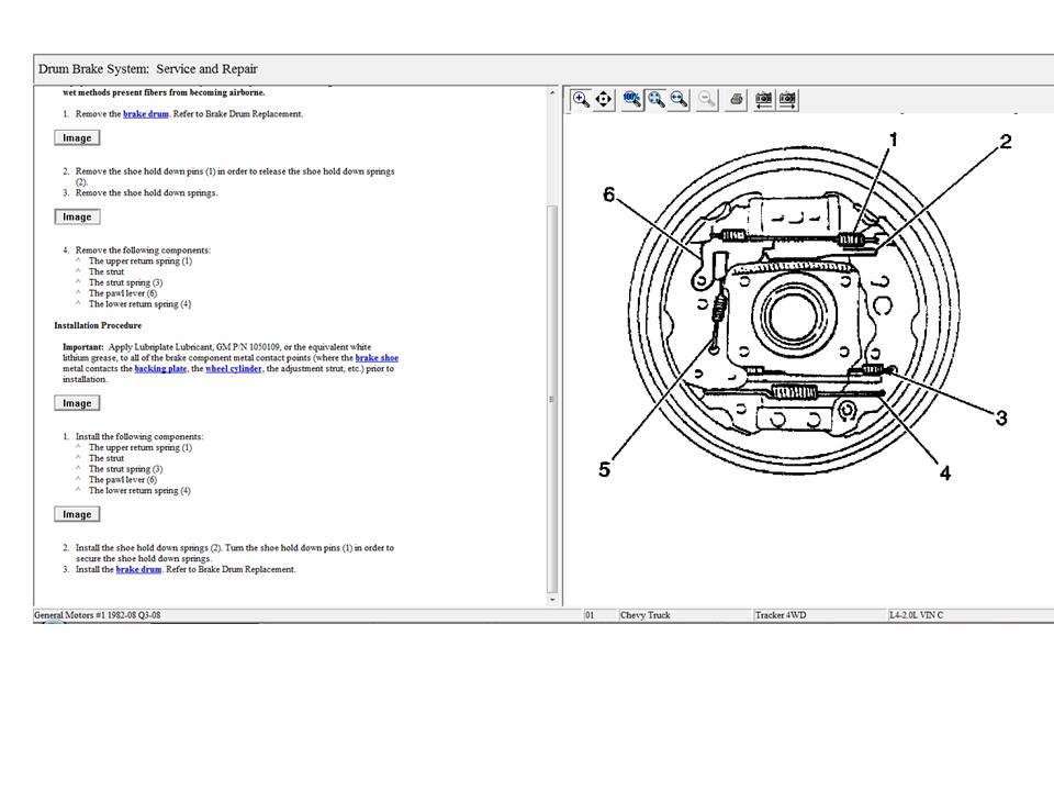 [ZN_0128] Chevy Tracker Rear Brake Diagram On 2002
