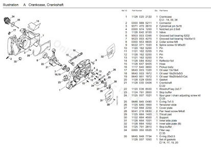[YO_5221] 036 Stihl Chainsaw Parts Diagram Images Wiring