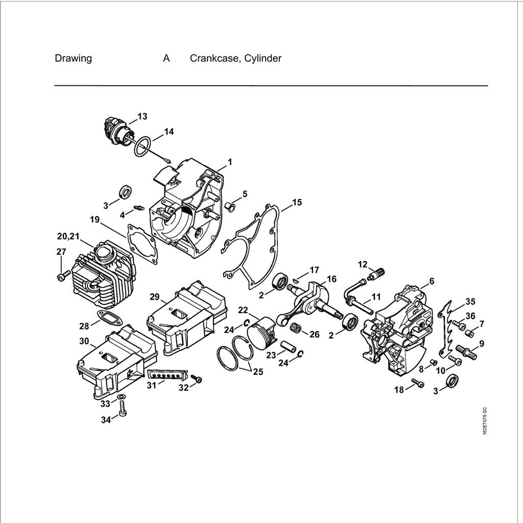 [YO_5221] 036 Stihl Chainsaw Parts Diagram Images Wiring