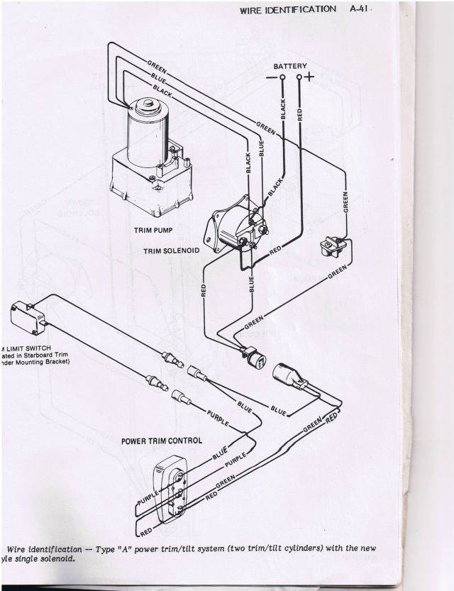 johnson outboard tilt trim wiring diagram  2007 acura mdx