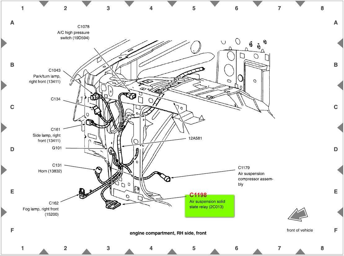 [YR_8470] Airbag Suspension Relay Wire Diagrams Download