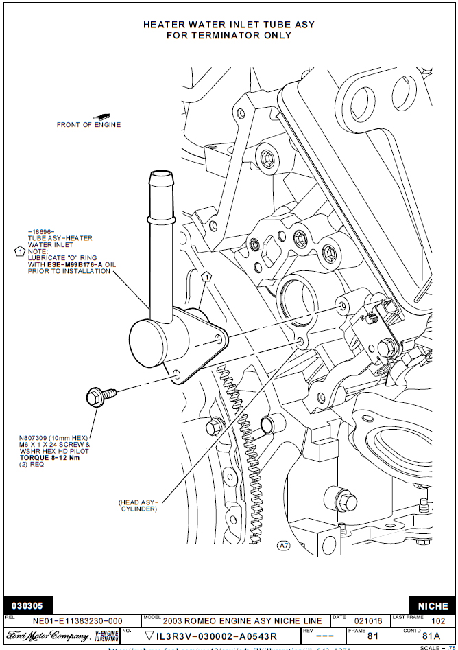 [YA_0288] 2004 Lincoln Aviator Engine Diagram Schematic Wiring