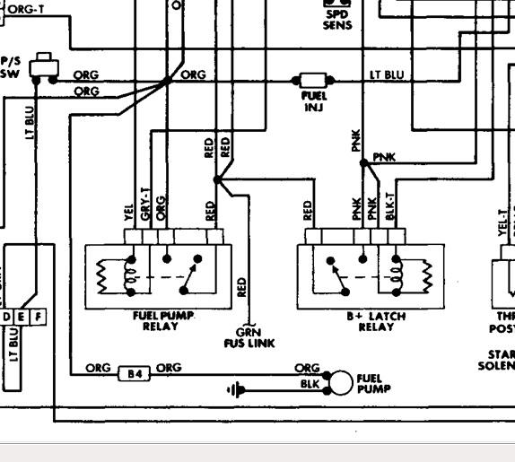 Jeep Tj Fuel Pump Wiring Diagram : 1942 Chevy Wiring