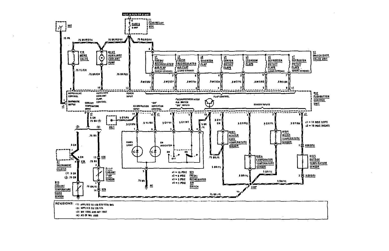 [DIAGRAM] 1991 Mercedes E300 Wiring Diagram FULL Version