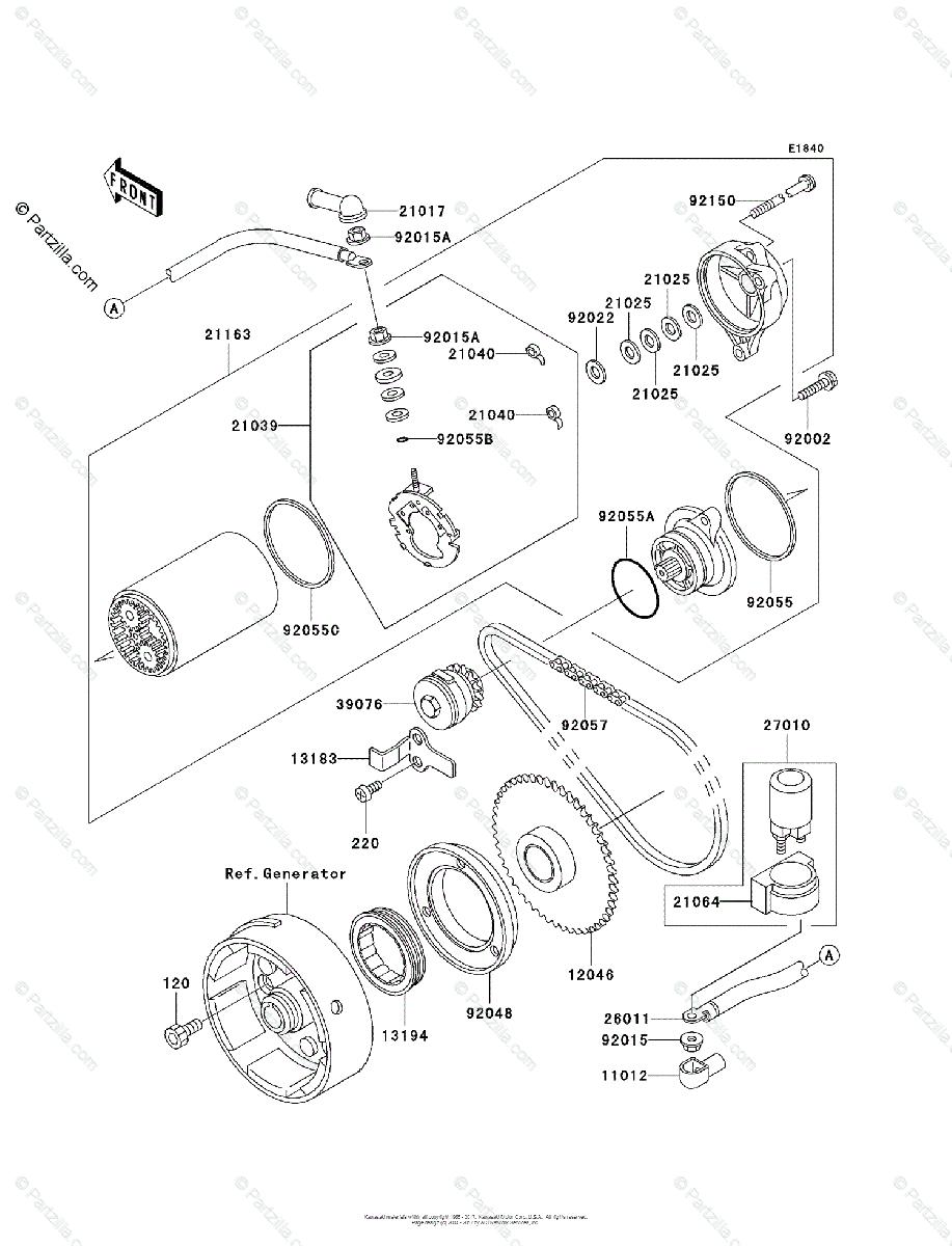 [YA_4485] Kawasaki Lakota Sport Wiring Diagram Schematic