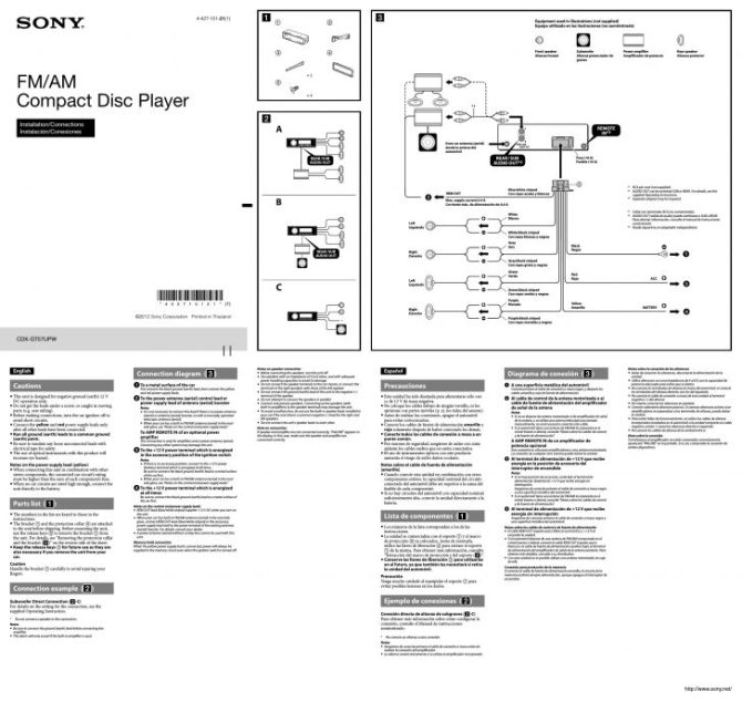 kl5258 stereo wiring diagram on sony cd player wire