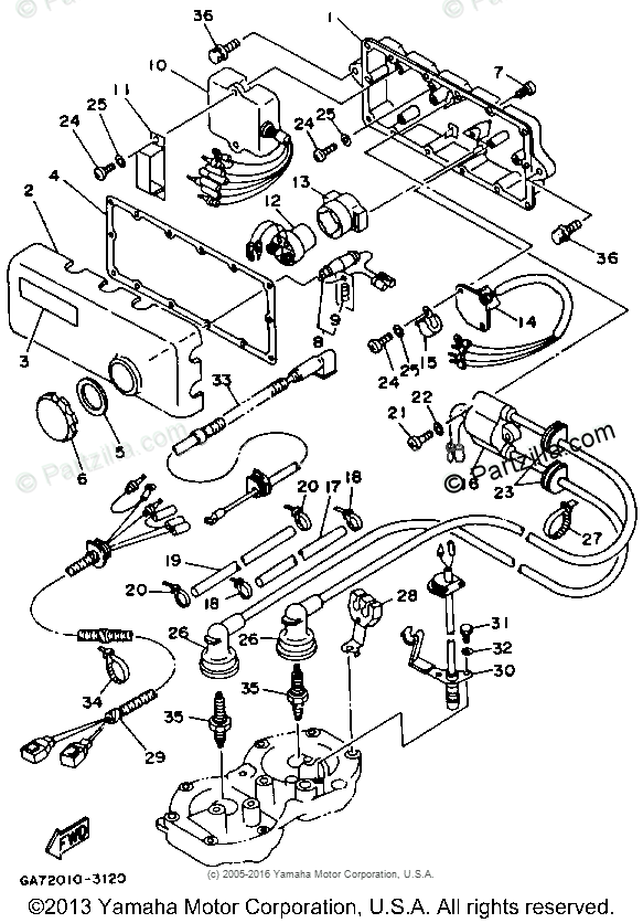 [GG_8618] 93 Waverunner Cdi Box Wiring Diagram Download