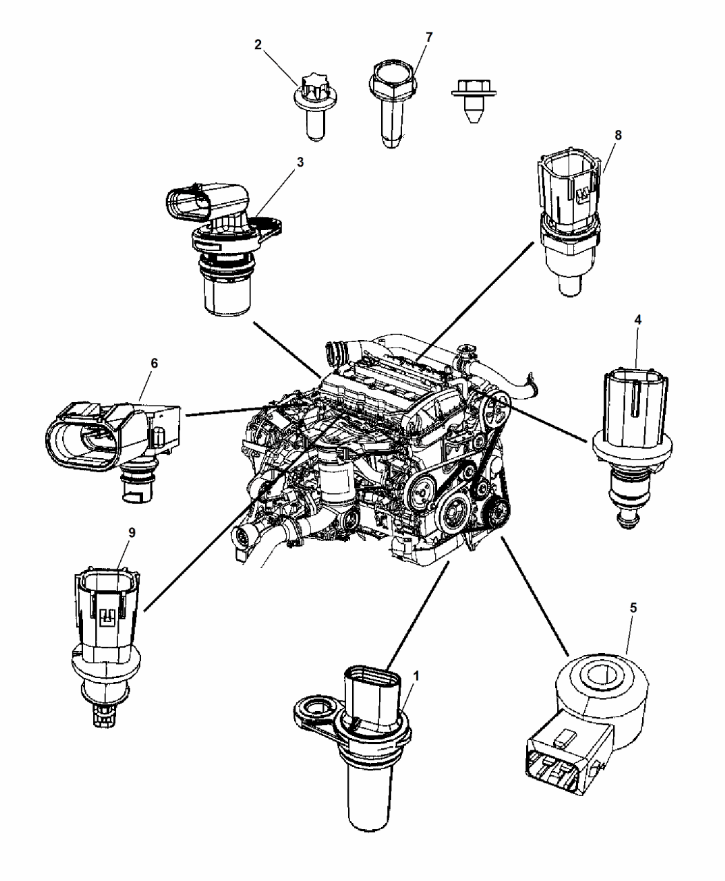 [SZ_5939] 2008 Jeep Patriot 2 0 Engine Diagram Free Diagram