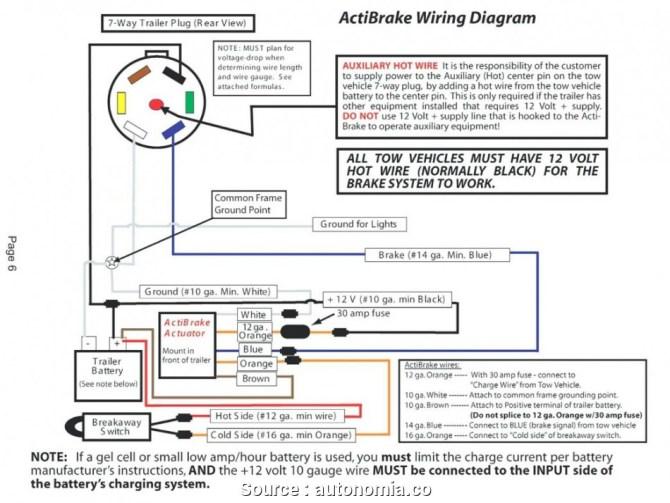 tekonsha breakaway switch wiring diagram  5 wire proximity
