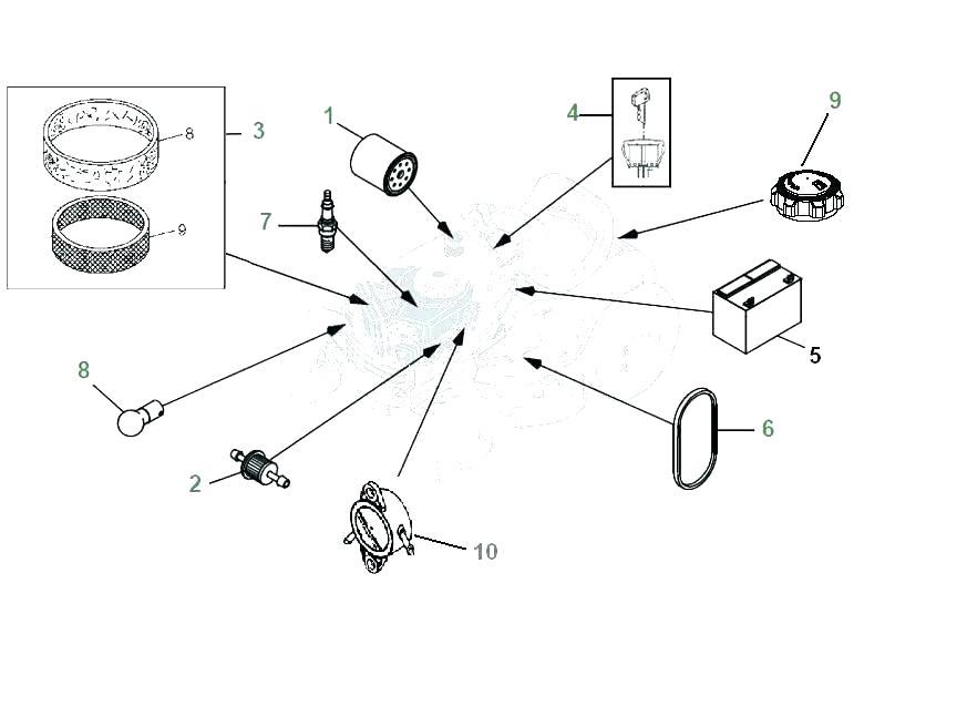 [GZ_2622] John Deere L130 Steering Parts Diagram View