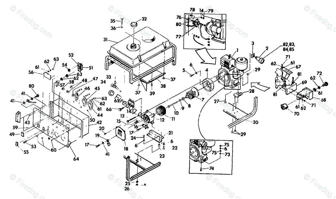 [HE_0819] Briggs And Stratton Parts Illustration Schematic