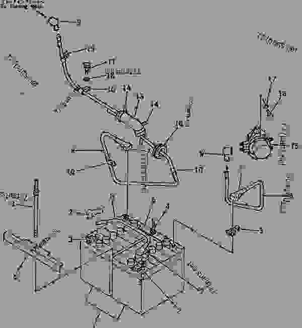 [ML_4376] Komatsu Excavators Wiring Diagram Wiring Diagram