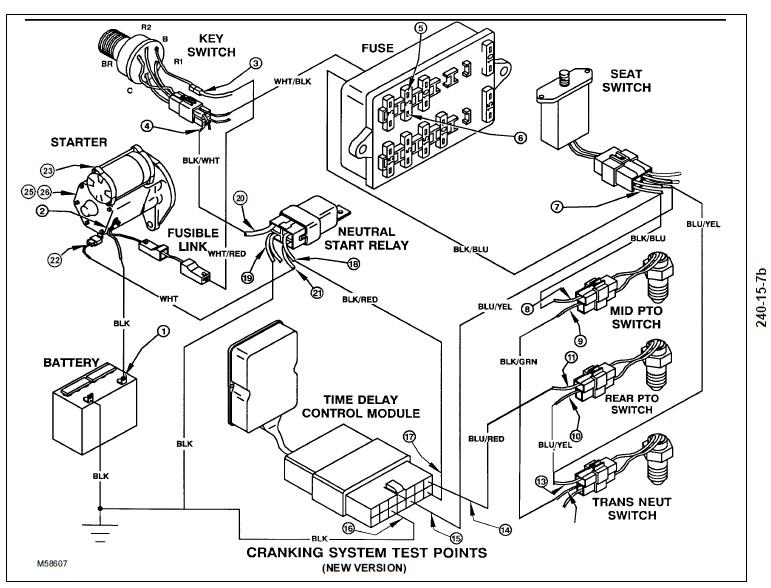 [KB_1258] 770 John Deere Fuse Box Download Diagram