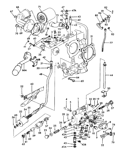 Ford 6600 Tractor Wiring Diagram / Ford 2000 Tractor New