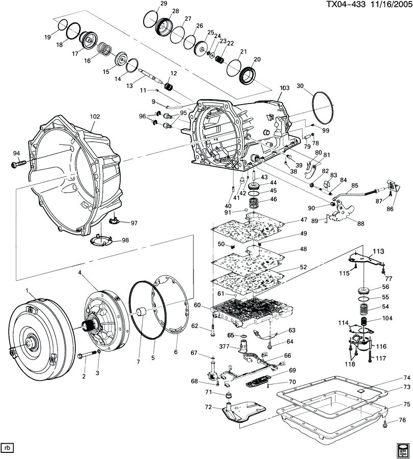 1995 4L60E Transmission Wiring Diagram Collection
