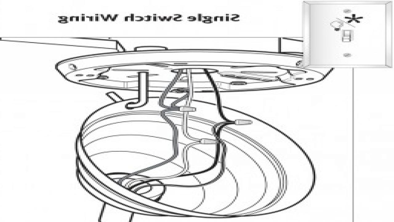 Hampton Bay Ceiling Fan Wiring Diagram / Diagram Hampton