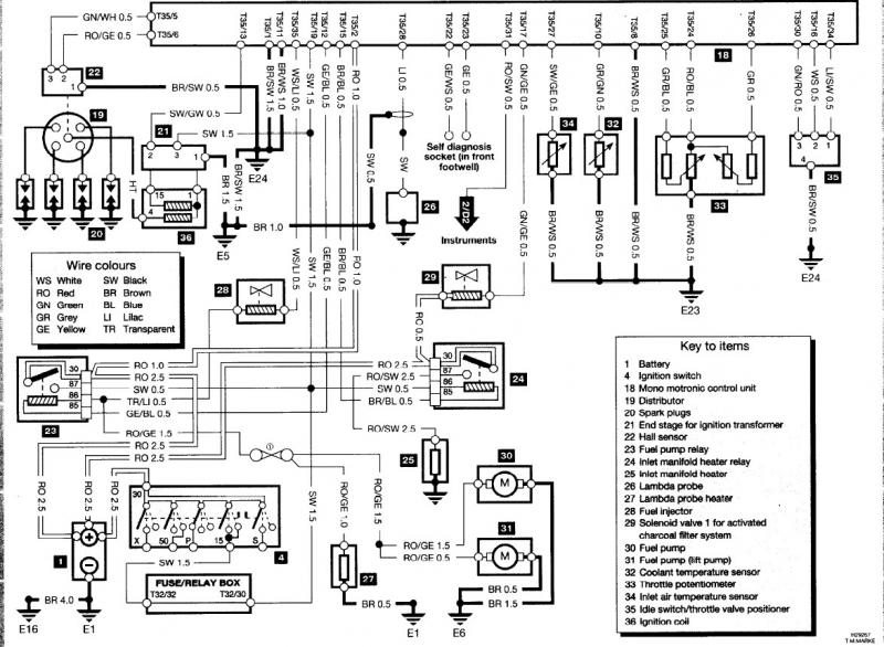 [VL_1248] Vw Polo 6N1 Wiring Diagram Wiring Diagram