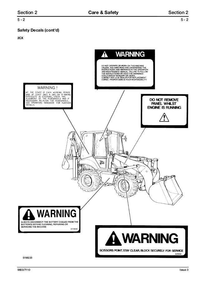 [EC_0511] Jcb Service Manuals S2 Repair Manuals Download