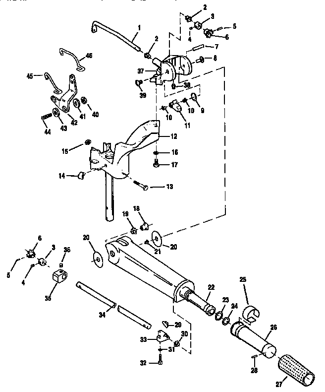 [DR_4891] 25 Hp Mercury Tiller Handle Diagram On Manual