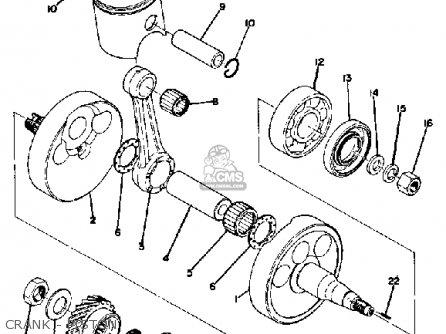 [XG_1546] Yamaha Dt360 Enduro Motorcycle Wiring Schematics