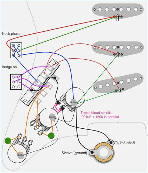 schematic of a fender stratocaster wiring diagram 1960