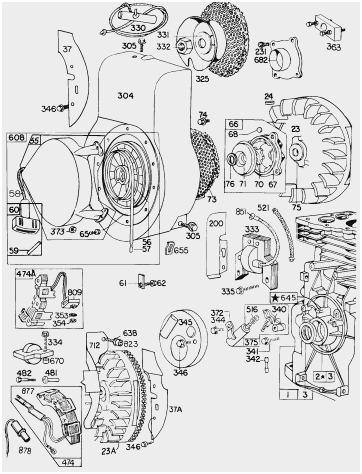 [CF_0178] Briggs And Stratton Vanguard 18 Hp Carburetor