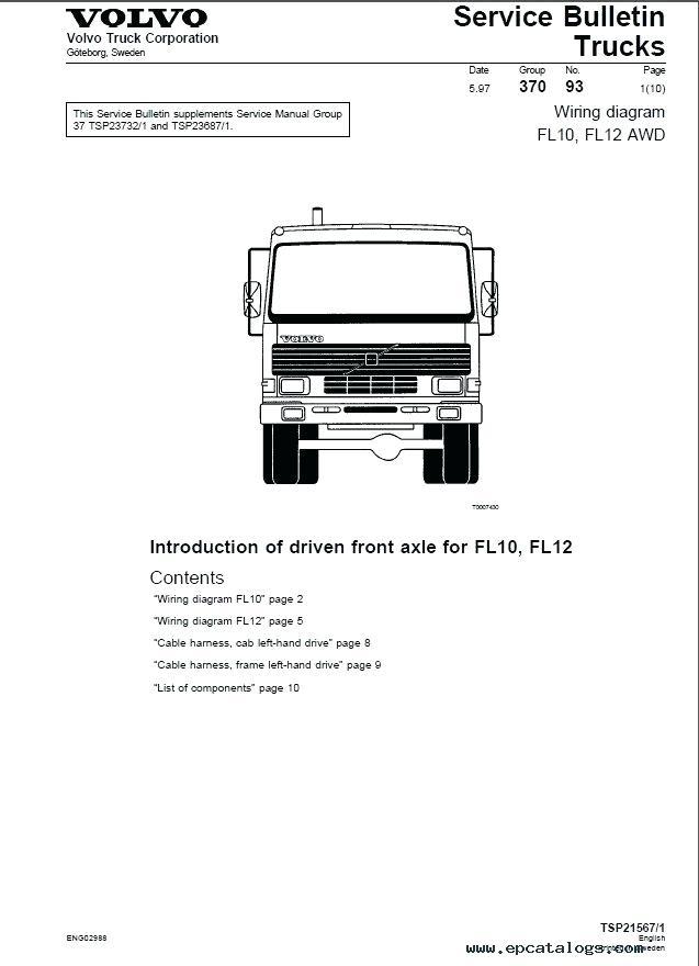 Man Truck Electrical Wiring Diagram Pdf : Calameo Man 1997