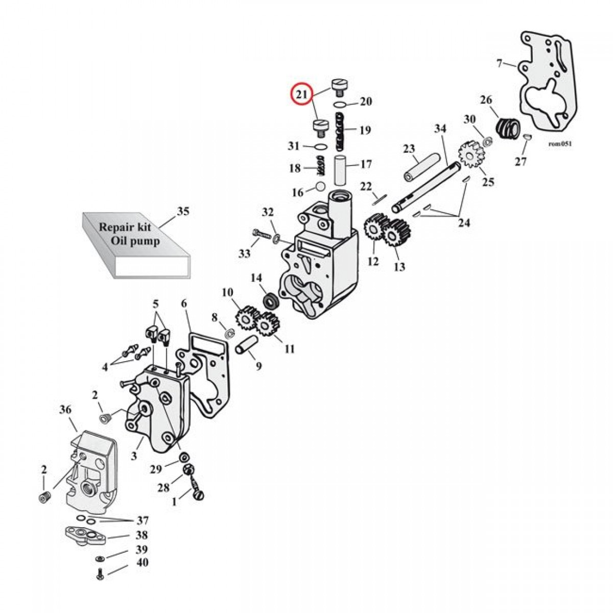 [TT_6098] Harley Davidson Oil Pump Diagram Wiring Diagram