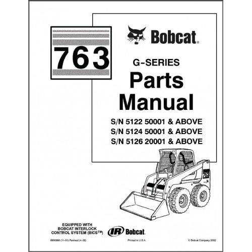 [YH_1092] Bobcat Parts Diagram 753 Wiring Diagram