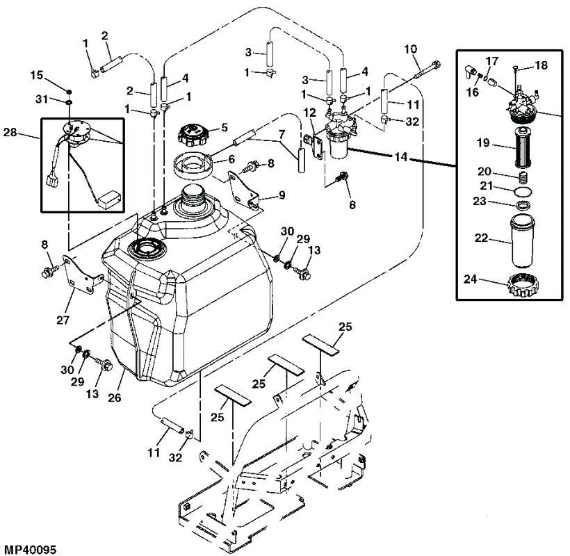 John Deere L120 Wiring Diagram Pdf : Diagram John Deere