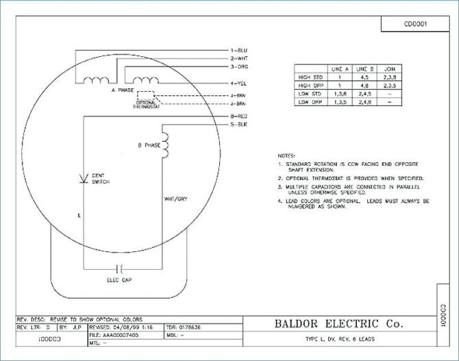 fa4987 motor wiring diagram motor corporation emerson