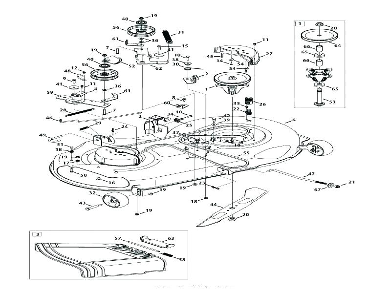 [SO_8879] Troy Bilt Pony Mower Deck Belt Diagram Also With